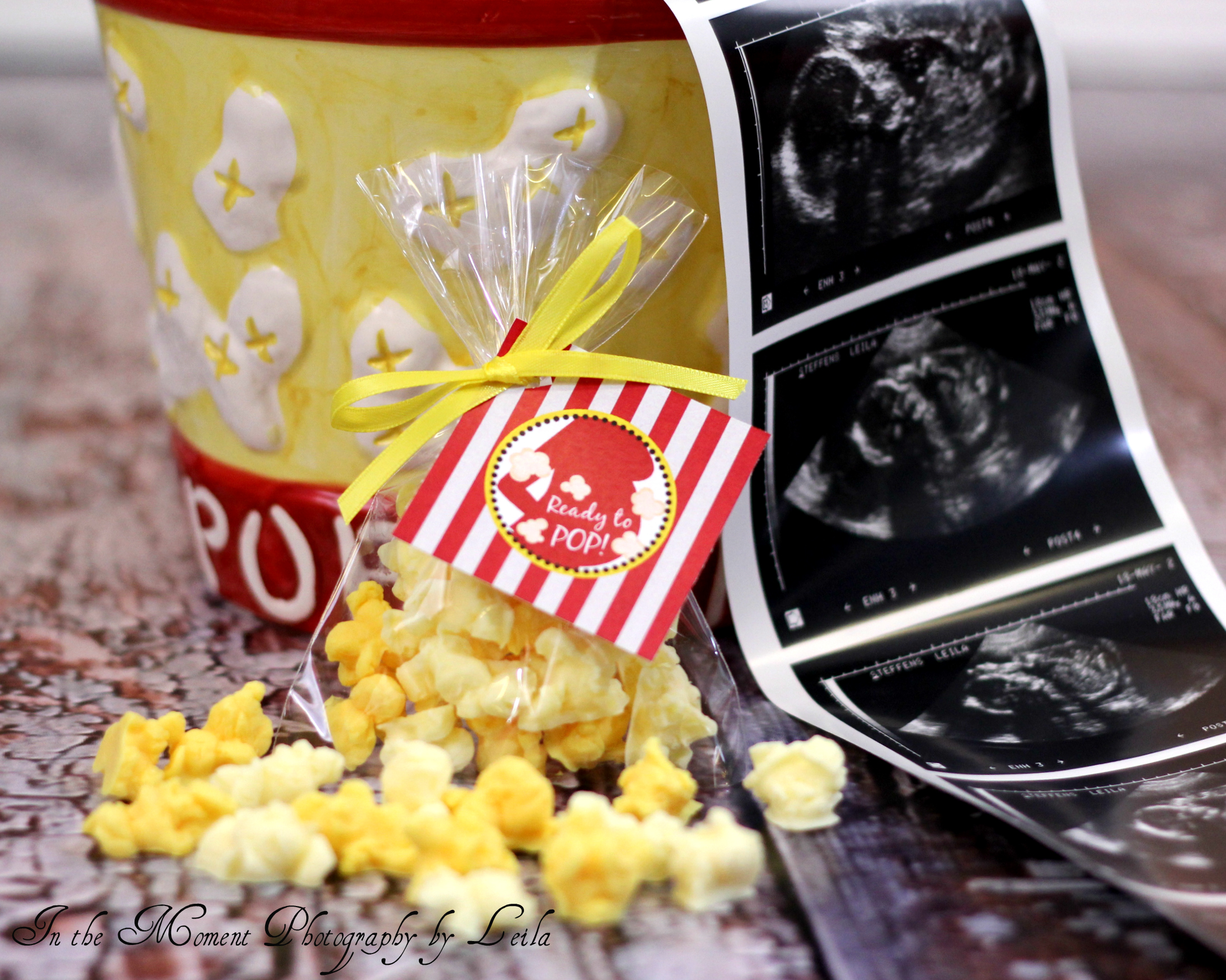 Popcorn | Ready to pop baby shower